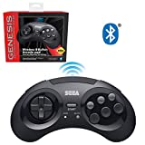 Best Game Support Bluetooth Game Controllers - Retro-Bit Official Sega Genesis Bluetooth Controller 8-Button Arcade Review