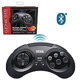 Best Bluetooth Controllers - Retro-Bit Official Sega Genesis Bluetooth Controller 8-Button Arcade Review