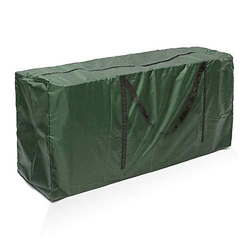 Schutzhülle Für Auflagen Aufbewahrungstasche Gartenauflagen Wasserabweisende Gartenmöbelauflagen Aufbewahrung Aufbewahrung Tasche mit Tragegriff für Weihnachtsbaume (173 * 76 * 51, Grün)