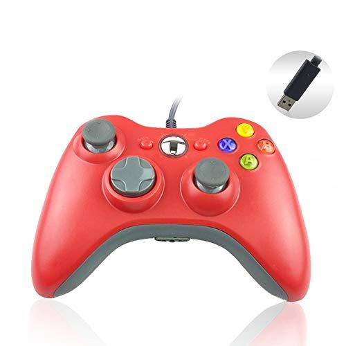 JoyFan Mando de Juegos Xbox 360 para PC Gamepad USB con Cable...