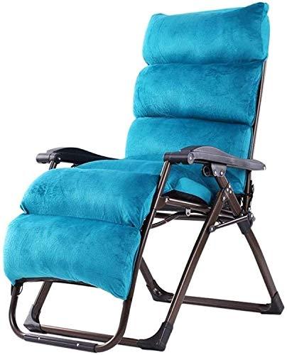 Leichter Zero Gravity Patio Liegestuhl Übergroß OutdoorFaltbarer Sonnendeckstuhl Liegender Gartenstuhl Home Lounge Stuhl Mit Cotton Pad Unterstützung 260kg