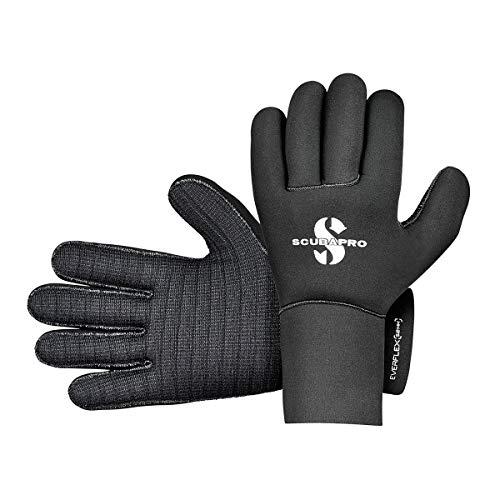Scubapro Everflex Dive Glove, 5mm, Black, Medium