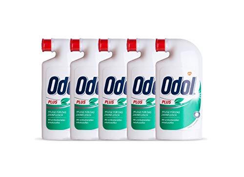5x Odol Plus Mundspülung Konzentrat 125 ml