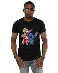 Disney hombre Lilo & Stitch Classic Lilo & Stitch Camiseta