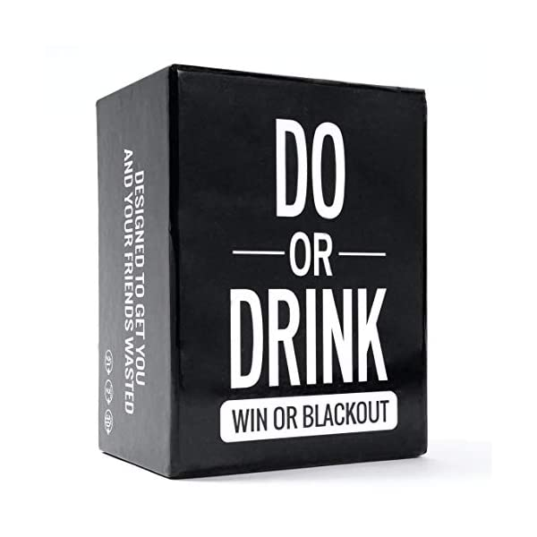 Do or Drink – Party Card Game – for College, Camping, 21st Birthday,...