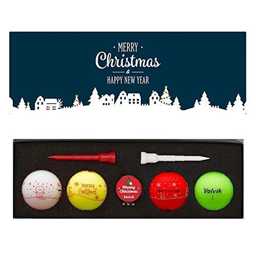 Volvik Unisexe Paquet, Noël Golf Balles, Muli Couleur,...