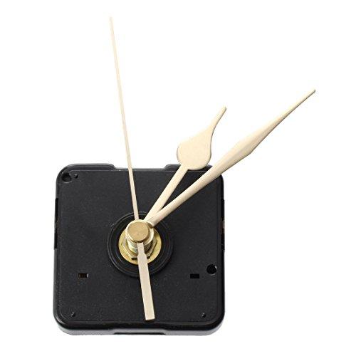 TOOGOO (R) Maquinaria de reloj cuarzo con Agujas Dorado oro relojero