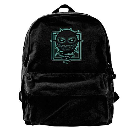 Canvas Backpack Rainbow Six Siege Rucksack Gym Hiking Laptop Shoulder Bag Daypack For Men Women