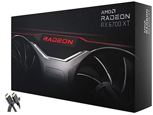 2021 Newest AMD Radeon RX 6700 XT Gaming Graphics Card with 12GB GDDR6, + AllyFlex HDMI
