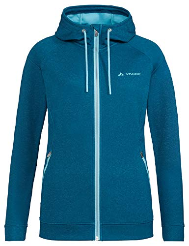 VAUDE Damen Jacke Women's Skomer Fleece Jacket, Fleecejacke, Wanderjacke, kingfisher, 38, 414123320380