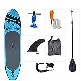 LHQ-HQ Tabla De Surf De Pie, Tabla De Surf para Adultos, Tabla De Surf Inflable, Tabla De Surf Plegable con Accesorios Y Bolsa De Almacenamiento Portátil