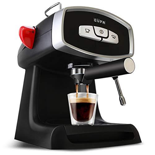 MYYINGELE Profesjonalny ekspres do kawy, 850 W, ekspres do kawy typu All-in-One do espresso, filtr i saszetki, ekspres do kawy ze spieniaczem do mleka – 1,2 l, cappuccino