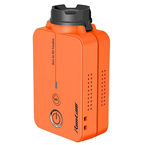 RunCam® 2 – oranje – de kleinste camera voor FPV met – geïntegreerde WIFI – Full HD 60 fps – 120 fps – 120 graden – TimeLapse – uitgang – APP control iOS en Android. Sectorcam®