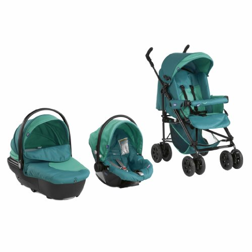 Chicco 06079143240000 Trio System Enjoy Fun, seagreen grün