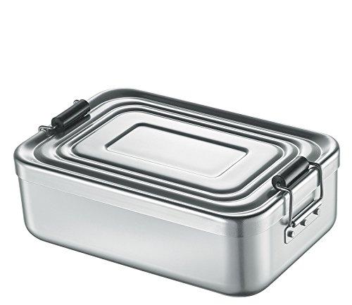 Küchenprofi Lunch Box, Aluminium, Silber, 23 x 15 x 7 cm