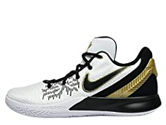 Nike Zoom cushioning provides a springy, responsive feel Durable screen-printed mesh upper Flexible band over the forefoot to keep you contained while moving in every direction Third eye-inspired design on the rubber outsole External heel clip and pa...