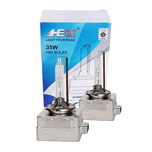 D1S Bi Xenon Brenner Metall Basis -Hid Xenon Scheinwerferlampe 12V 35W 4300K Ersatzlicht -2 Yrs Garantie 2 Stück