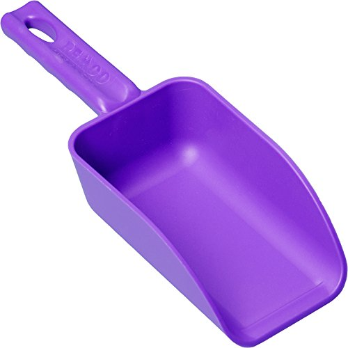 Remco 63008 Purple Polypropylene Injection Molded Color-Coded Bowl Hand Scoop, 16 oz, 1 Piece