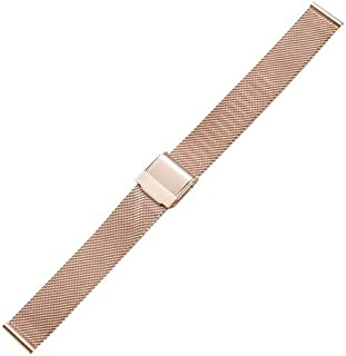 Beautiful Watches, Simple Fashion Watches Band Metal Watch Strap, Width: 14mm