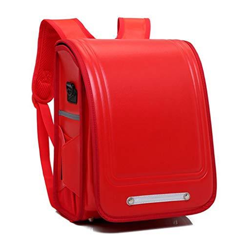 PINGDI Kinder Schultasche im japanischen Stil für Kinder Orthopädischer Rucksack Gr. One size, R