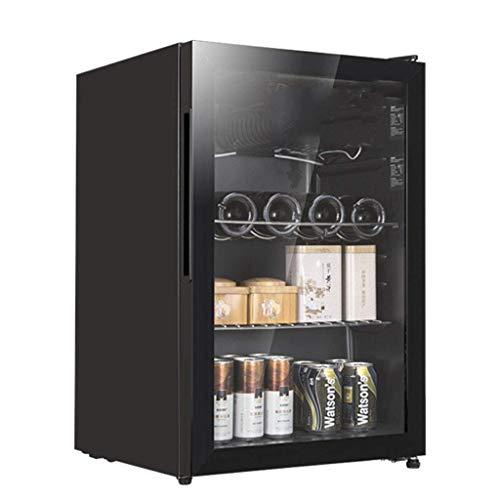 Taoke Cantina, Frigo Vino Freestanding Wine Cooler - Zone di Temperatura 0-10 DEG - 70L; Doppia Zona Bassa Temperatura energetica A + Nero 8bayfa