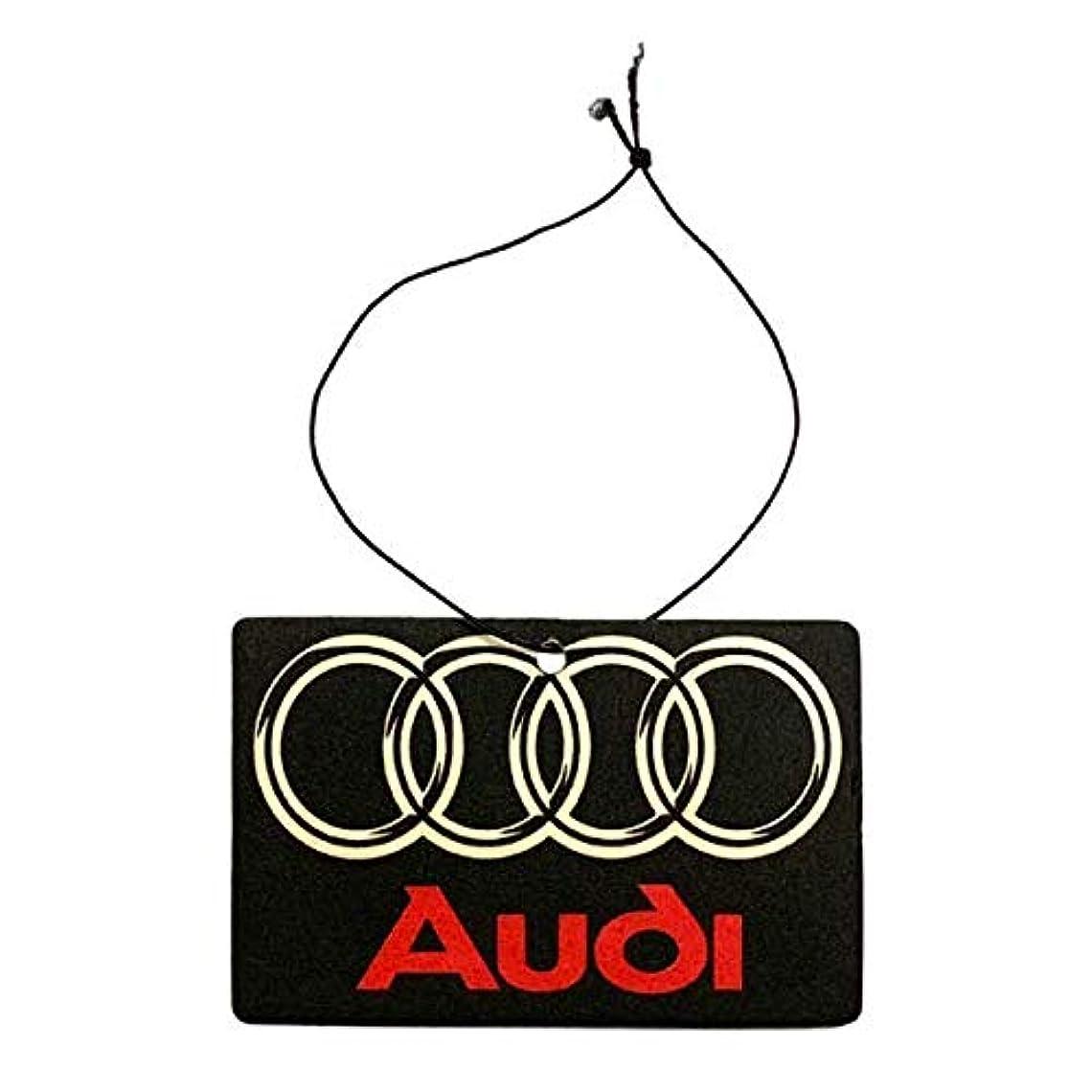 遅らせるハミングバードブランクアウディ AUDI エアフレッシュナー 芳香剤 レーシング モーター アメリカン雑貨 アメ雑