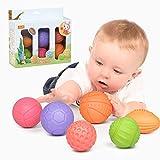 TUMAMA Baby Spielzeug ab 0 6 Monate , Weiche Baby Bälle für Kleinkinder, Spielzeug für Kinder Pädagogisches Baby-Badespielzeug für 0-3 Jahre