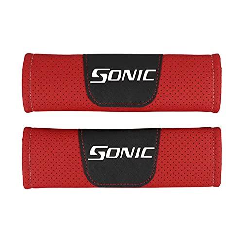 Almohadillas Para CinturóN Seguridad AutomóVil Almohadillas Confort,Para Chevrolet Sonic AutomóVil Cuero PU Moda Seguridad Cubierta CinturóN Seguridad Cinturones Seguridad Hombreras AutomóVil 2 Piezas