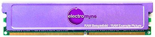 2GB Kit (2x1GB) CnMemory DDR1 RAM PC3200U 400MHz CL3 Heatspreader Cooler Memory (Zertifiziert und Generalüberholt)
