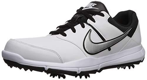Nike Herren Durasport 4 Golfschuhe, Weiß (White/Metallic Silver/Black 100), 40 EU