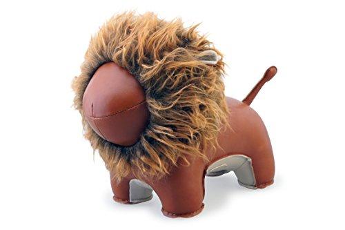 Zuny Lion Lino Animal Doorstop by