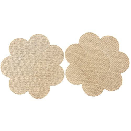 Ayliss 10Pairs Flower Pasties Breast Nipple Cover Stick on Bra Disposable