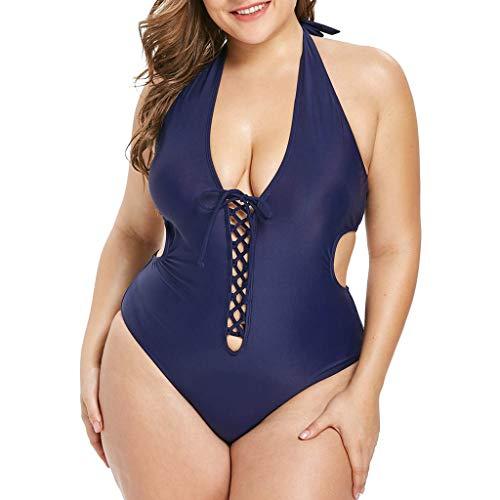 ZODOF Mujer Conjunto de Bikini Push-up Bañador Acolchado Bra Bikini Trajes de baño Ropa Swimwear Braguitas
