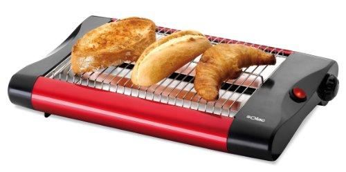 Solac Buon Giorno TC5301 tostapane 4 fetta/e Nero, Rosso 650 W