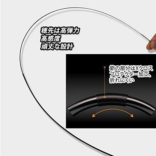JINKING渓流竿ロッド釣り竿超硬質高炭素超軽量硬調コンパクト延べ竿初心者3.0M