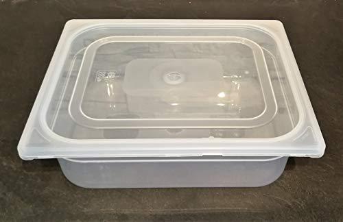 Brotzutaten Teigwanne mit Deckel 5 Liter