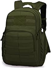 Mardingtop 35L Tactical Backpacks Molle Hiking daypacks for Motorcycle Camping Hiking Military Traveling Army Green-2-0076
