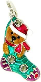 Santa Bear Charm