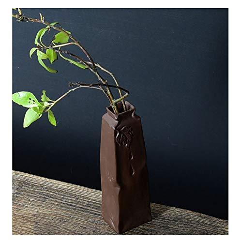 Keramikvase für Hydrokultur, violetter Sand, kreative Ornamente Persönlichkeit, kleine Blumen, Stecktisch, Retro-Wohnaccessoires, 1, L