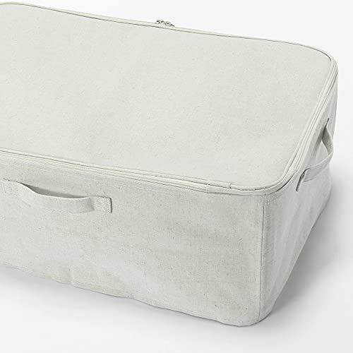 無印良品ポリエステル綿麻混・ソフトボックス・衣装ケース・大約幅59×奥行39×高さ23cm38369707