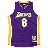 KKSY Maillots pour Hommes Los Angeles Lakers # 8 2000-01 Championnat Maillots de Basket-Ball Rétro Gilet Respirant Swingman Débardeur,Purple,XL