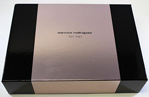 Narciso Rodriguez For Her Eau De Toilette Spray 100Ml Set 3 Piezas 2016