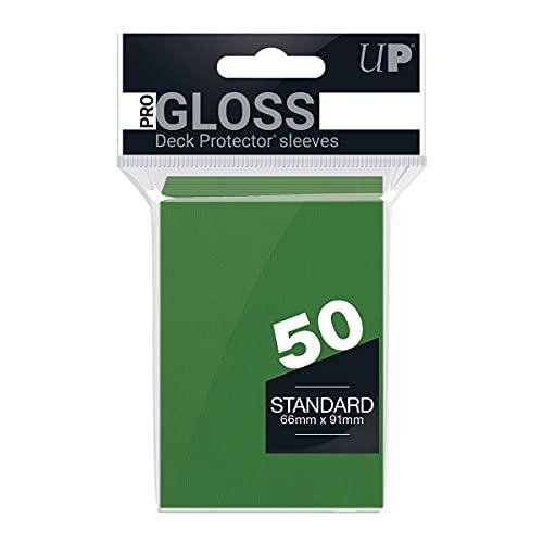 Ultra Products - 82671 - Jeu de Société - Standard Sleeves - Green