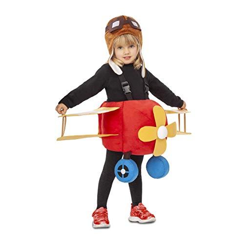 My Other Me Disfraz de Avión Rojo para niños
