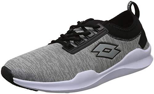 Lotto Men's Amerigo Grey and Black Running Shoes