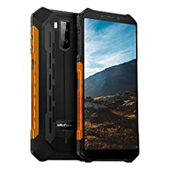 🎃Android 10 + IP68 Protection Rating + 5.5 in HD+ Display: Update with the android 10, you can experince the latest OS system. Clear, bright 5.5-inch screen that is easy to read and has a nice range. The Armor X5 rugged smartphone is definitely water...