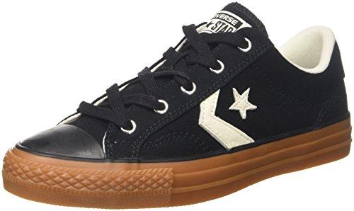 Converse Unisex-Erwachsene Star Player OX Black/EGRET/Honey Fitnessschuhe, Schwarz 001, 39/40 EU