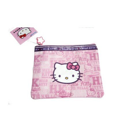 Hello Kitty pochette rose Collection Collège Country