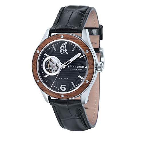 Spinnaker Orologio Cronografo Automatico Uomo con Cinturino in Pelle SP-5034-01