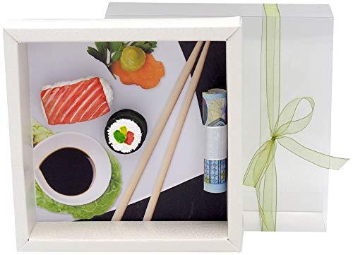 ZauberDeko Geldgeschenk Verpackung Sushi Restaurant Essen Geburtstag Weihnachten Japan